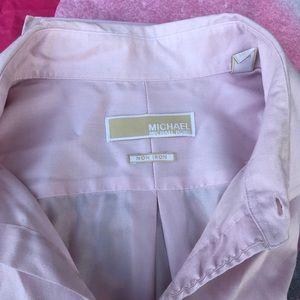 Michael Kors Dress Shirt 17, 35/35 Amaranth Pink